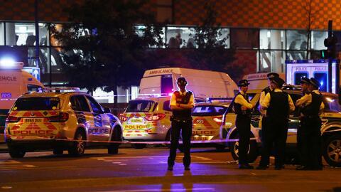 Conductor que atropelló a varias personas en una mezquita de Londres per...