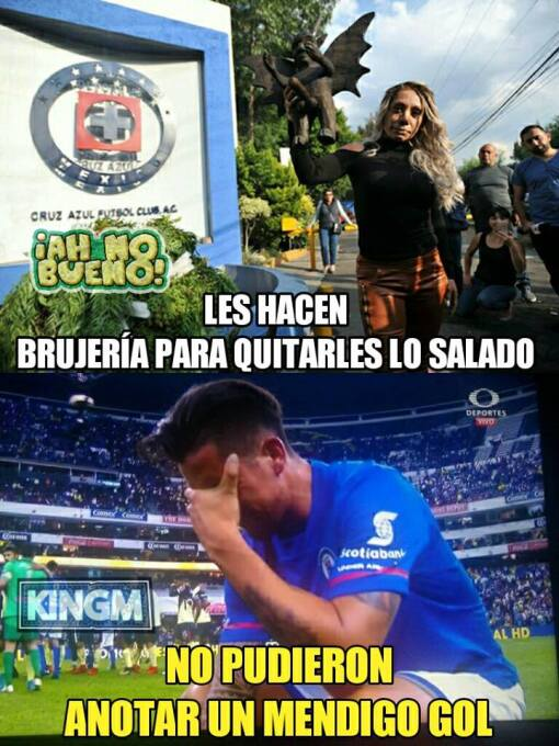 20 años de burlas para Cruz Azul, los memes no perdonan a 'La Máquina'...
