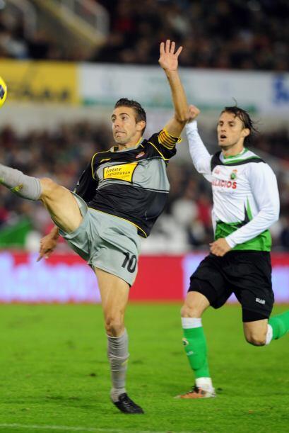 Racing y Espanyol estuvieron inmersos en otro partido del día.