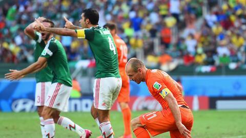 Gracias a la pena máxima, Holanda eliminó al Tri en los octavos de final.
