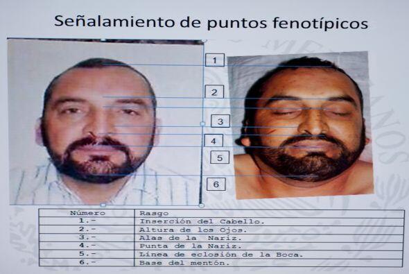 Estas son las imágenes que las autoridades distribuyeron en las que mues...