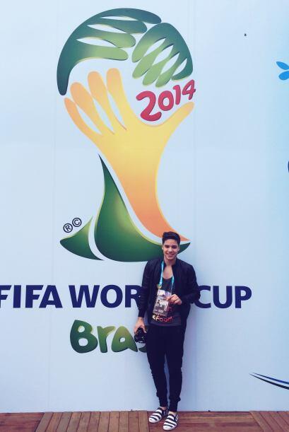 Con el gafete de FIFA en la mano y ganas de comerse el mundo, William es...