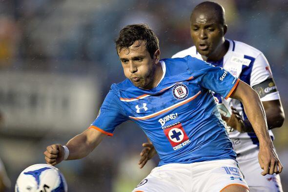 El paraguayo Daniel Benítez llegó a Cruz Azul esta temporada y no ha log...