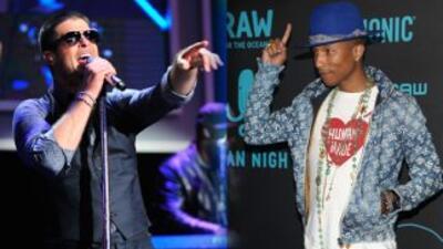 Robin Thicke argumenta que Pharrell fue el que estuvo más envuelto en el...