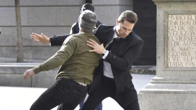 Sebastián Rulli desata pelea callejera en Madrid (pero no es lo que parece)