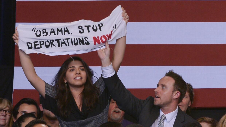 Desde que Obama llegó a la Casa Blanca, su gobierno ha deportado a más d...