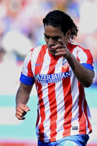 Desde Colombia contamos con el atacante del Atlético de Madrid, Radamel...