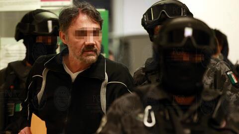 En video: El traslado de 'El Licenciado' a prisión