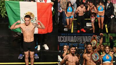 El toque mexicano en el pesaje de Jessie Vargas contra Manny Pacquiao