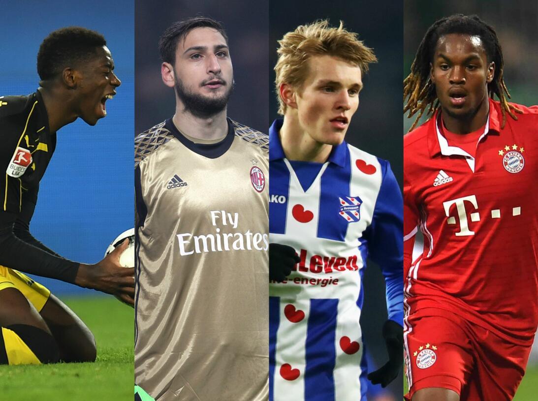 En fotos: estos son los 30 futuros cracks del fútbol en Europa Promesas...