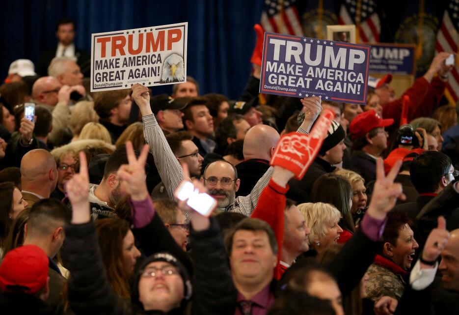 Independientes, republicanos y demócratas celebraron sus victorias