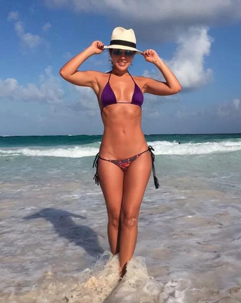Magda Ángel, una espectacular colombiana que le va al 'Tri' Captura de p...