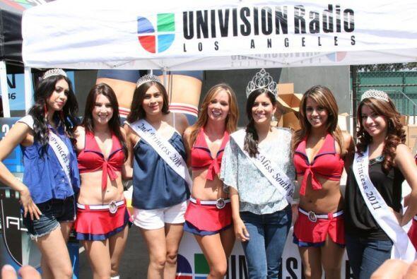 Un 'taquito de ojo': Las bellas de la Copa Univision 2012 | Fue un s&aac...