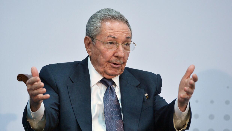 Raúl Castro, gobernante cubano