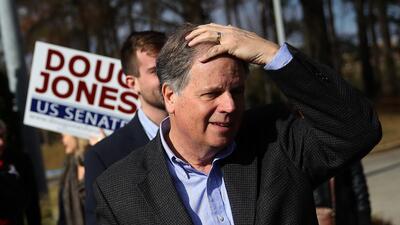 El demócrata Doug Jones dio la sorpresa que pocos creían posible de gana...
