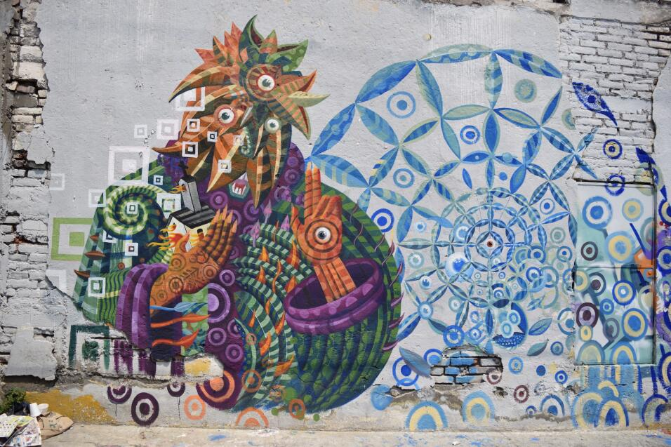 Mural de Lesuperdemon.