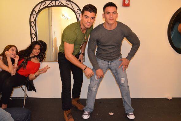 ¡Mira Quiénes Bailan! El cubano y el mexicano.