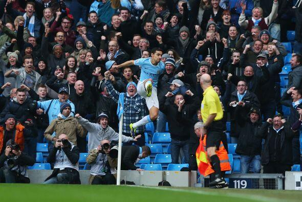 Los 'Citizens' ya ganaban desde el primer minuto con un gol de Jes&uacut...