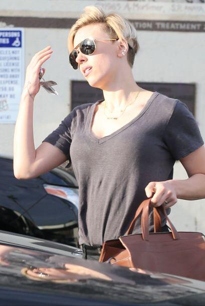 """Scarlett dará voz a """"Kaa"""" para la nueva versión de """"The Jungle Book""""."""