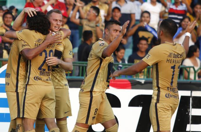El Puma se metió en la selva y dejó sin manchas al Jaguar Gol Jesús Gall...