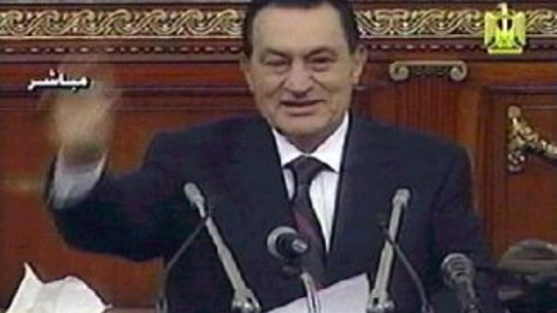 El ex presidente egipcio, Hosni Mubarak fue declarado clínicamente muerto.