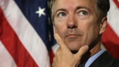 El Senador republicano Rand Paul.