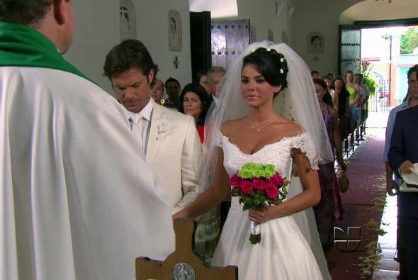 """Y así se casó con """"Gael"""", personaje de Mark Tach..."""