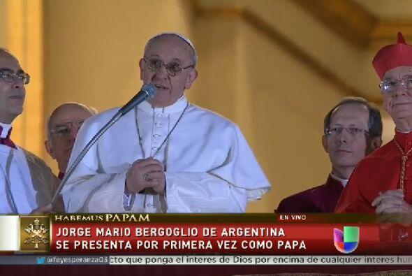 Bergoglio, de 76 años, supuestamente recibió la mayor cantidad de votos...