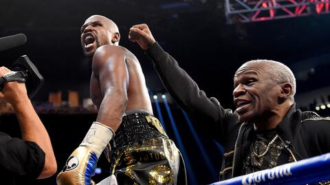 El boxeador norteamericano se alzó con el triunfo en el dé...