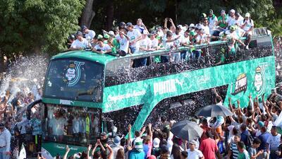 Así fue el desfile de Santos campeón en la Comarca Lagunera