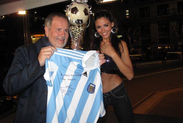 Fue durante el Mundial de Futbol de Sudáfrica que el Gordo pasó un momen...