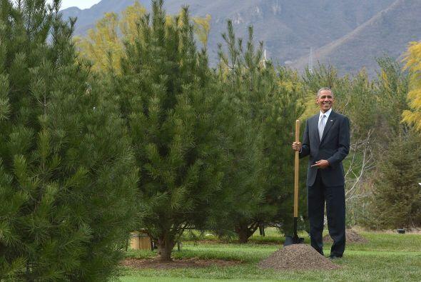 El presidente Obama se movía como pez en el agua.