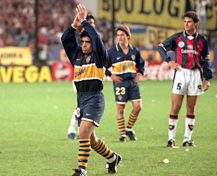 Diego Armando Maradona tuvo dos etapas como jugador de Boca Juniors. Pri...