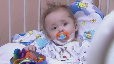 Rescatan de un derrumbe en Rusia a bebé de 11 meses