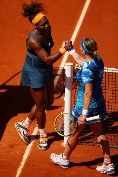 Serena, número uno del mundo, se clasificó a las semifinales de Roland G...