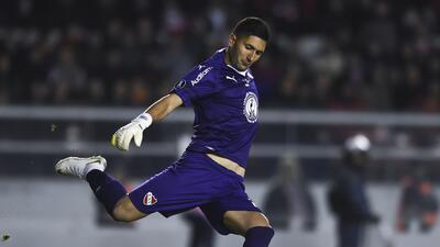 Portero 'anotó' primer 'hat trick' en la historia de Libertadores