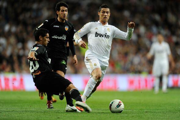 Cristiano comandaba a sus compañeros en cada jugada de ataque, llevado p...