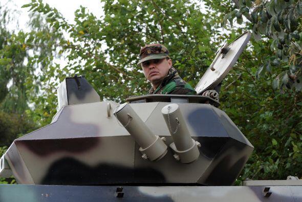 Fernando Lugo ordenó el despliegue de alrededor de 1000 tropas.