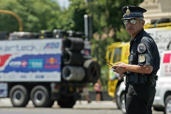 La policía argentina también se declaró lista para proteger a los compet...