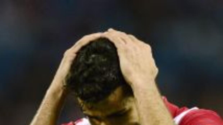 Una lesión no le permite a Costa poder debutar con la selección española...