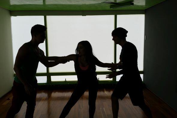 Intentando un baile triple con lance y todo… #GeissieVPT aún no nos tien...
