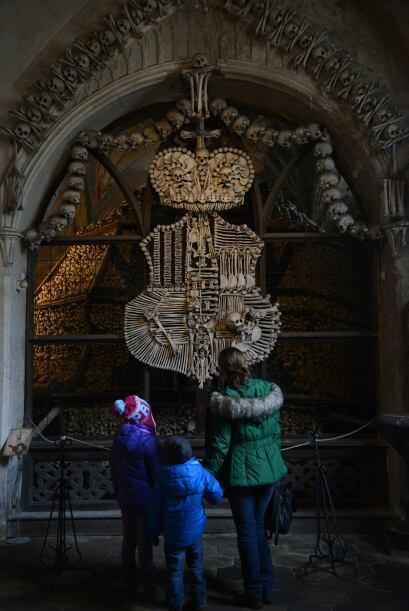El Osario de Sedlec es, sin dudas, uno de los lugares más macabros del p...
