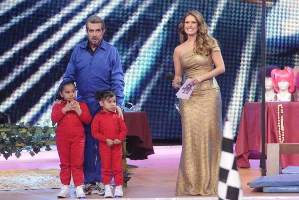 María José, el 'Flaco' Ibáñez y Bianca Marro...