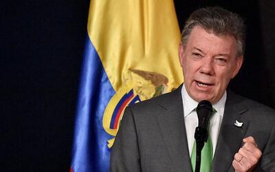 El presidente de Colombia, Juan Manuel Santos, gana el premio Nobel de l...