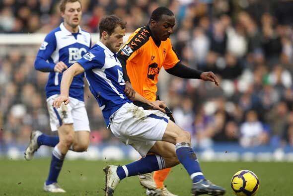 El Birmingham y el Wigan jugaron otro partido con graves incidentes.