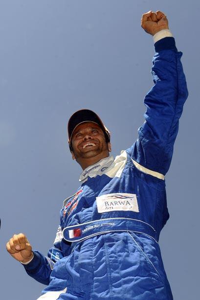 Nasser Al Attiyah soboreó la victoria con doble razón ya que en el 2010...