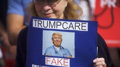 Trumpcare, como al principio Obamacare, pretende ser un mote peyorativo.