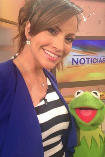 """""""#Kermit o """"La rana René"""" se lució en las @uninoticias de @despiertaamer..."""