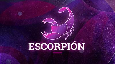 Escorpión - Semana del 24 al 30 de septiembre