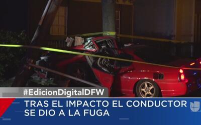 Un choque vehicular deja sin luz a un sector de Dallas
